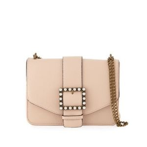 New Neiman Marcus Blush Lucy  Belted Crossbody Bag